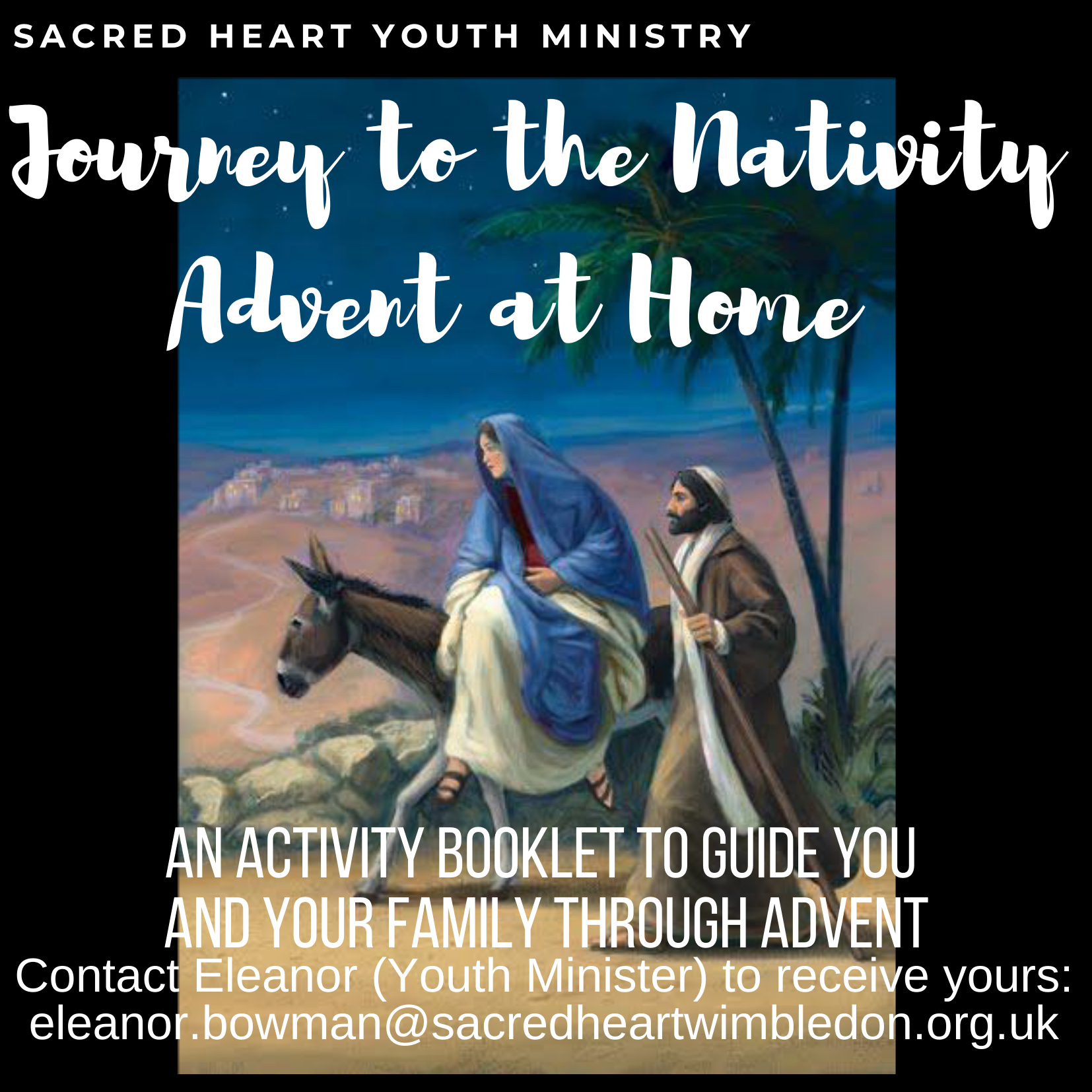 Advent at Home flyer